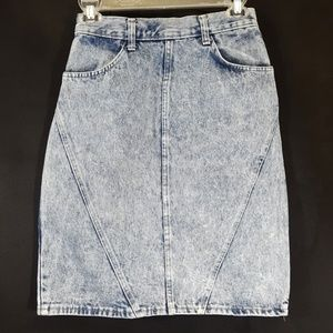 VINTAGE CANDIES DENIM SKIT 7/8 HighRise Distressed